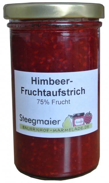 Himbeer-Fruchtaufstrich, 75% Frucht