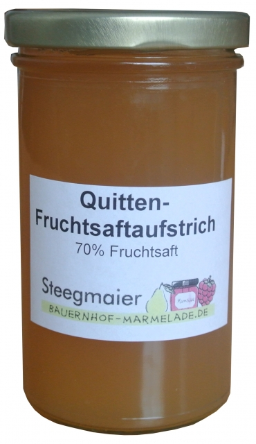 Quitten-Fruchtsaftaufstrich